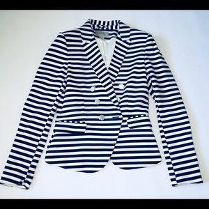NWOT H&M Striped Blazer